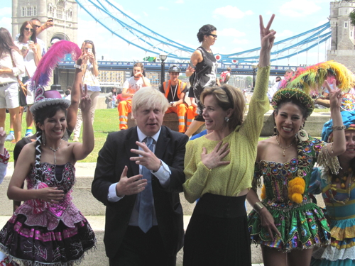 Boris Johnson and Darcey Bussell launch Big Dance 2014