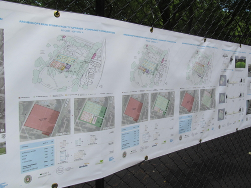 Last chance to comment on Archbishop's Park sports proposals
