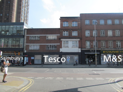 M&S to open next door to Tesco and Sainsbury's in Waterloo Road