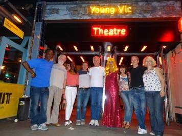 Homeless Londoners perform on Young Vic stage