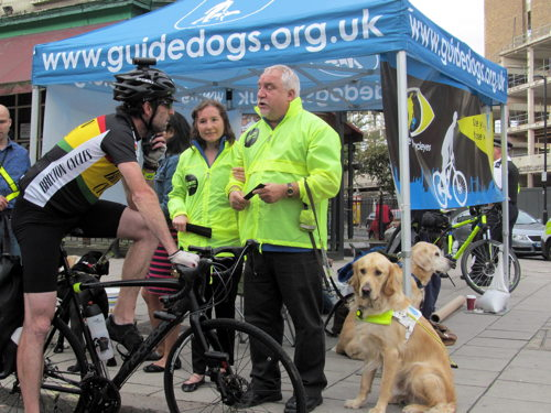 North Lambeth cyclists urged to be more aware of blind Londoners