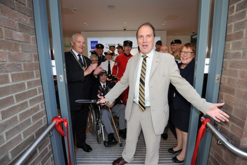 Royal British Legion opens Borough High Street 'pop in centre'