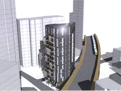 13-storey tower on Rockingham Street gets green light