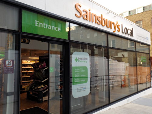 Sainsbury's Local opens at Guy's Hospital