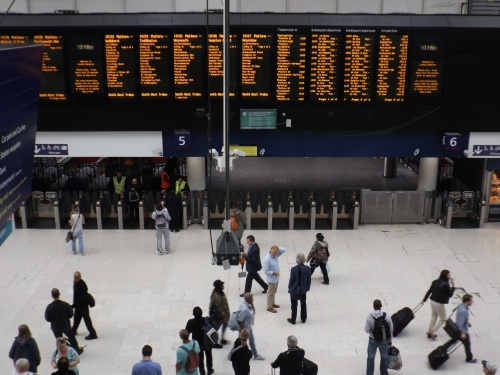 RNIB objects to cut in Waterloo Station loudspeaker announcements