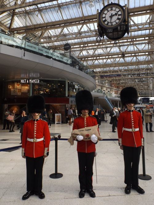 Soil from WWI battlefields arrives at Waterloo Station