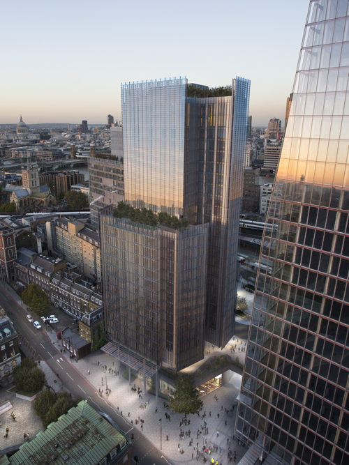 Luxury flats next to Shard to complete Renzo Piano 'trilogy'