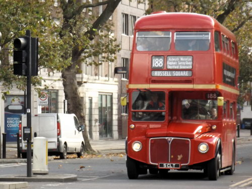 Routemaster buses on routes 4 and 188 raise money for Poppy Appeal