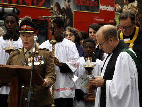Remembrance Sunday 2014: pictures & audio