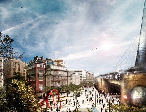 Five images that show how London Bridge's streets could change