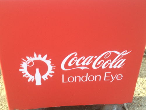 London Eye reopens with new Coca-Cola branding