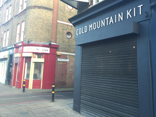Tower Bridge Road climbing shop burgled just days after opening