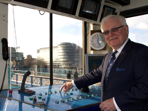 Havengore returns to route of Churchill funeral flotilla 50 years on