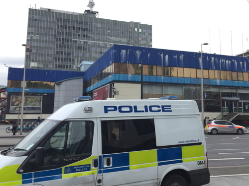 Man stabbed at Elephant & Castle