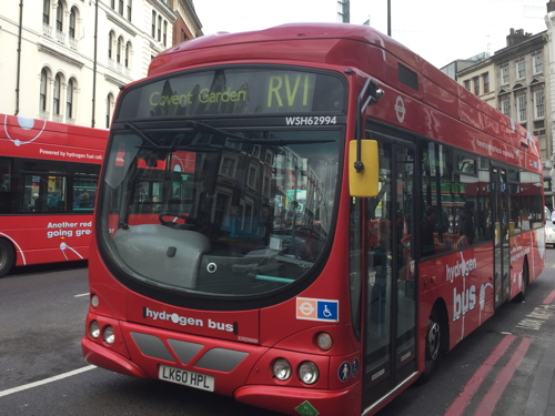 Hydrogen buses to stay on RV1 route till 2020