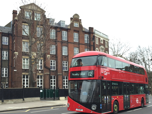 'Boris buses' introduced on route 12