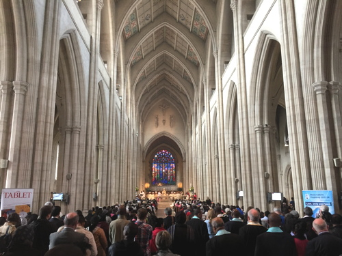 Migrant communities gather for Mass at St George's Cathedral
