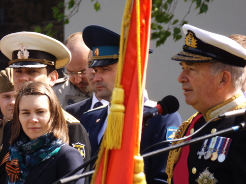 Victory Day: 70th anniversary marked at Soviet War Memorial