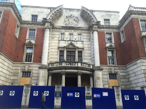 Hotel Indigo plan for Tower Bridge Magistrates' Court