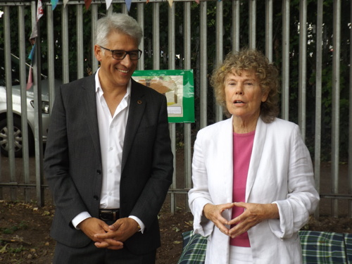 Steve Chalke and Kate Hoey MP