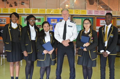 Top cop tells SE1 teenagers how Met will cope with budget cuts