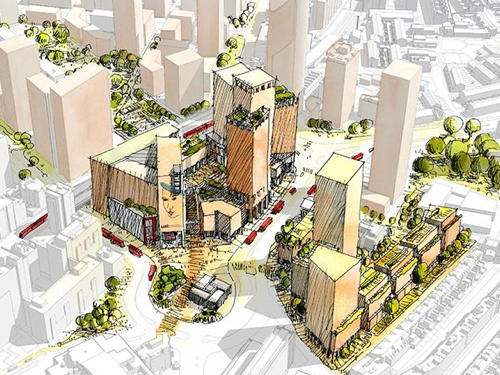 New Elephant & Castle Shopping Centre redevelopment plans on show
