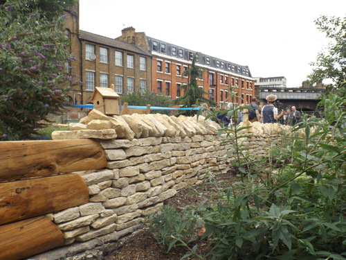 Prayers said at Cross Bones Graveyard as new garden takes shape