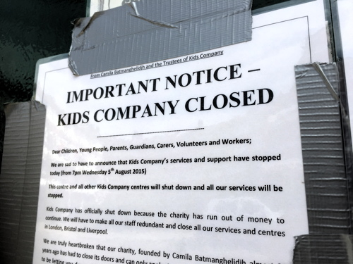 Kids Company Decima Street Urban Academy at centre of controversy