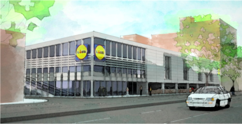 Lidl plans to rebuild Old Kent Road store