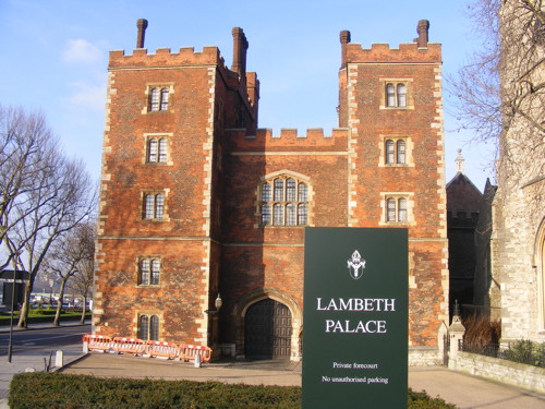 Lambeth Palace: more corporate events as booze licence is granted