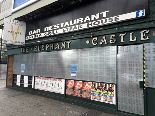 New tenant sought for Elephant & Castle pub after Foxtons blocked