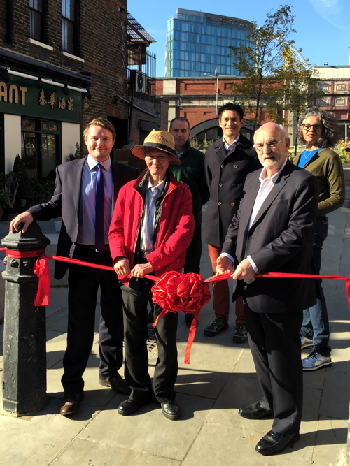 Leake Street Pocket Park now open