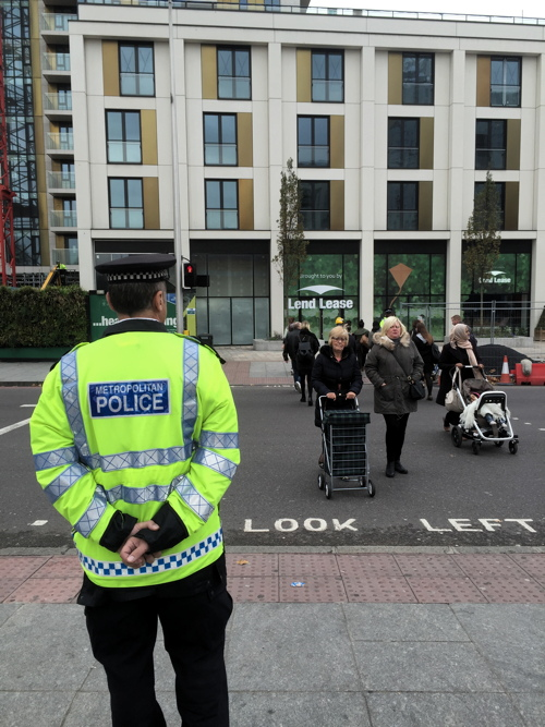 Road safety initiative launched at Elephant & Castle