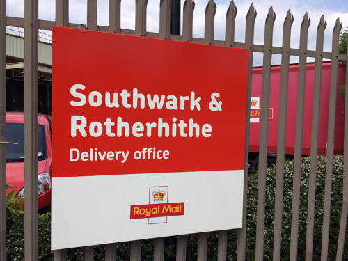 Royal Mail blames roadworks and sickness for SE1 postal problems