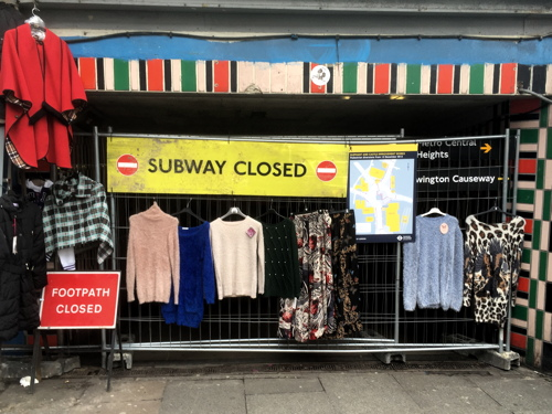 Final pedestrian subway at Elephant & Castle closed to the public