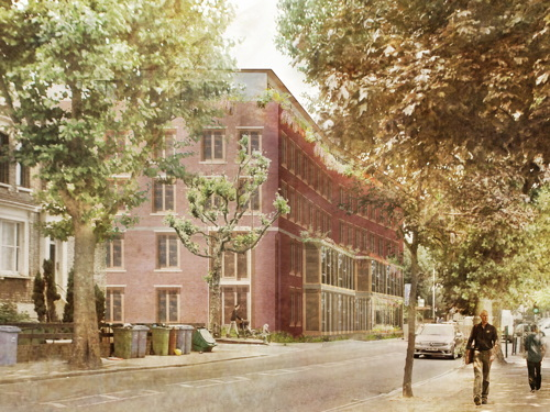 Green light for 'modern almshouse' funded by luxury flats