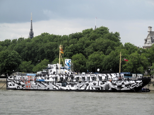 HMS President to leave King's Reach due to 'super sewer' works