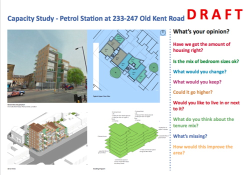 Council plans flats at former petrol station in Old Kent Road