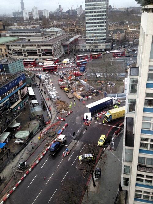 Elderly woman killed in Elephant & Castle collision