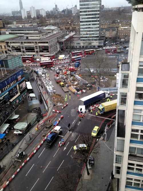 Police appeal for witnesses to fatal collision at Elephant & Castle