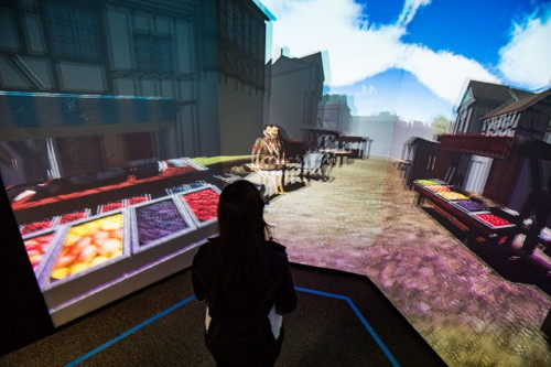 Bankside 1598 recreated in virtual reality at Florida university