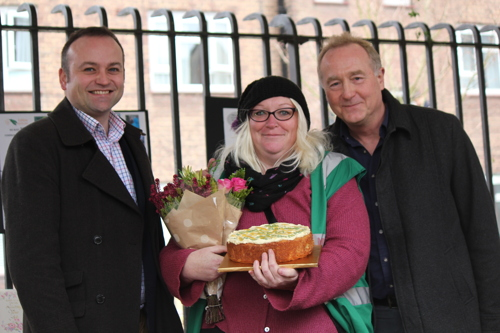 Edible Bankside: BOST hands over food-growing projects to locals