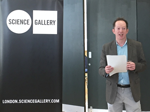 Saliva artwork marks start of work on Science Gallery at Guy's