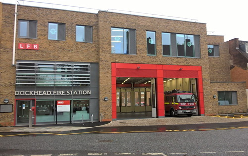 Dockhead Fire Station: firefighters move in to new building