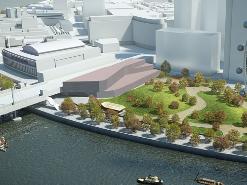 BFI revives plan for film centre next to Jubilee Gardens