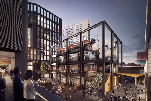 Latest plans for Elephant & Castle Shopping Centre and LCC sites