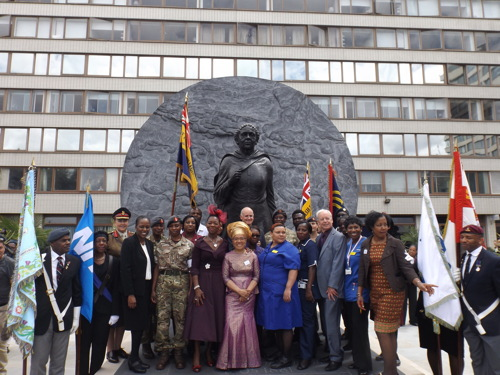 Mary Seacole statue unveiled at St Thomas' Hospital