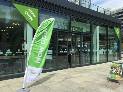 Little Waitrose opens at South Bank Tower, Stamford Street
