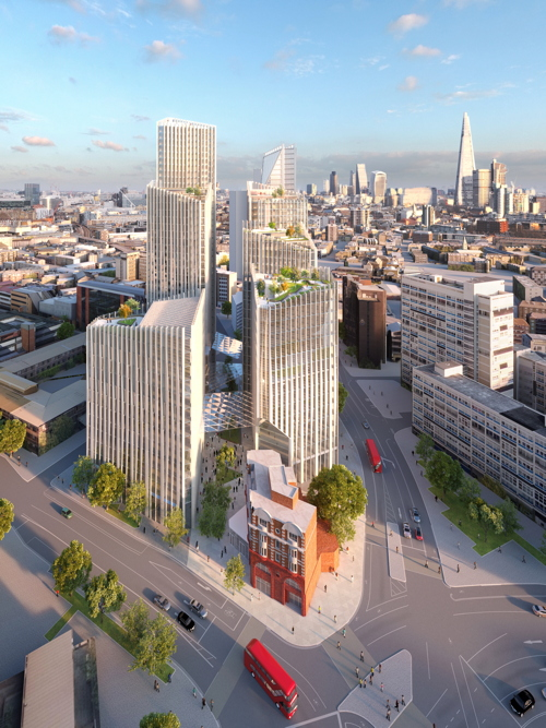 40-storey tower at Elephant & Castle gets green light