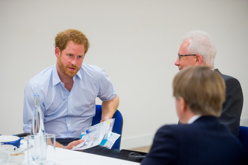 Prince Harry has HIV test at Burrell Street clinic